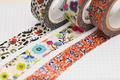 デジタル印刷マスキングテープ「マスキング・デジテープ」24mm×7m 500巻