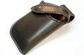 牛革の携帯ホルスター(黒)