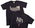 元素周期表Tシャツ(紺・Nh)