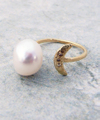 Serenity Pearl Ring / 0159