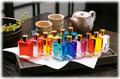 和み彩香セラピー カラーセラピー用カウンセリングボトル12色セット(アロマオイル入り)