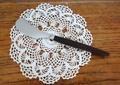 ✿木製ハンドルのバターナイフ