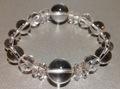 白水晶ブレス(14ミリグラデーション)