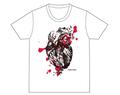 心臓Tシャツ(ホワイト)
