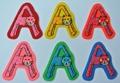 猫ちゃんアルファベットワッペン A