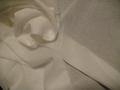 80綿ボイル オフホワイト 130センチ巾 @1m