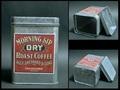 コーヒー ブリキ缶