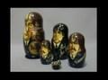 ロシア製 Beatles マトリョーシカ 人形