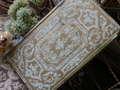 アンティーク古書 フランス製 淡いグリーンと金色のディスプレイ用ブック