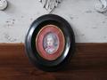 ヴィクトリアン 陶板ミニアチュールの額