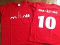 Tシャツ(赤)※150,S,M,L,XL