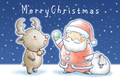 クリスマスカード(A)