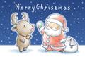 クリスマスカード(A) 5枚セット