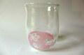 HANAグラス ピンク*GLASS STUDIO BiBi