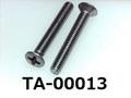 (TA-00013) 鉄10R   丸サラ+ M2.5×17.5 生地