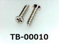 (TB-00010) 鉄 ピータイプ #0-3サラ + 1.7×8