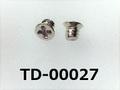 (TD-00027) 鉄16A ヤキ #0-1 サラ + M1.4×1.6 ニッケル