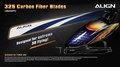 HD320F  325 Carbon Fiber Blades-Blue