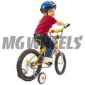 スプリングが自然に走行を助けます「EZ TRAINER 子供用自転車補助輪(12~20インチ) 」