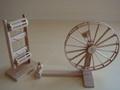 ミニチュア糸車セット