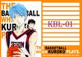 【KBL-01】黒子のバスケ(便せん)