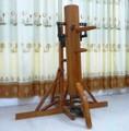 詠春拳で使用! 弾弓式自立型木人椿 スタンダード