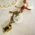 ミシンとハサミのネックレス