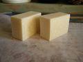 カレンデュラ&カモミールとコスメバターの石鹸(無香料)