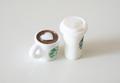ミニチュアコーヒーカップフィギュア2種