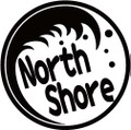 NAMI-2-5:NorthShore  (サーフィン)ステッカー(2マーク1セット)