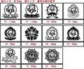 BOE3-002:タラーク/虚空蔵菩薩/丑・寅・台座2 干支梵字 ステッカー