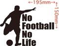 NLFB-001:No Football No Life (サッカー)ステッカー・1