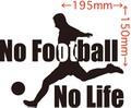 NLFB-002:No Football No Life (サッカー)ステッカー・2