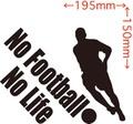 NLFB-004:No Football No Life (サッカー)ステッカー・4