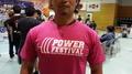 2016年全日本パワーリフティング大会記念Tシャツ(ピンク)