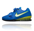 【NIKE】ウエイトリフティングシューズ / Romaleos 2  / ブルーNIKE ROMALEOS 2 WEIGHTLIFTING SHOES - HYPER COBALT / ELECTRIC YELLOW-BLACK