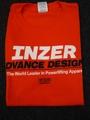 INZER-Tシャツ-オレンジ【送料360円発送可能】