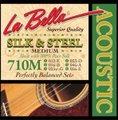 La Bella ラベラ 710M 12-56 SILK&STEEL Medium アコースティックギター弦 1100円