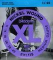580円(税込) EXL115 DADDARIO ダダリオ 11 - 49 BLUES/JAZZ ROCK