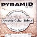 PYRAMID Strings ピラミッド No.327 Light 12-52  Premium Bronze  1850円