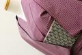 米沢木綿 KIPPE 格子 105 紫