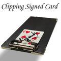 クリッピング・サイン・カード