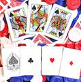 バイシクル・ファロー・デック(Bicycle Faro (Red) Playing Cards)