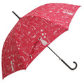 ☆婦人雨傘【猫の集会】★60cmジャンプ傘★