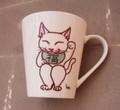 招き猫カップ-1