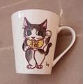招き猫カップ-3
