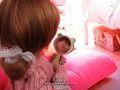 ドールサイズ 鏡(ネコ)