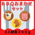 【冷蔵・冷凍】BBQおまかせセット 3人前