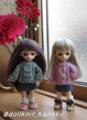 模様編みのセーター