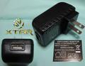 Xtar VC2/VC4 用AC-USBアダプタ 2.1A